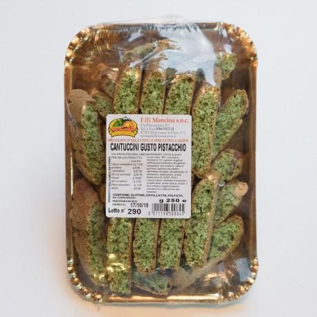 cantuccini al gusto pistacchio